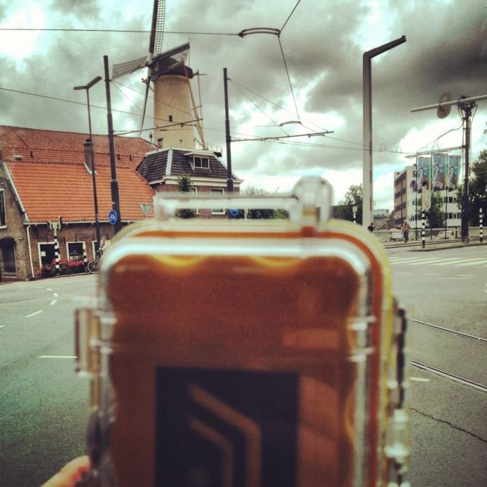 Safecasting a Dutch windmill