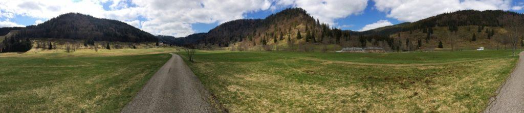 Panorama of Krunkelbach Valley