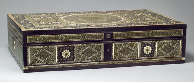 Writing box from the Metropolitan Museum of Art