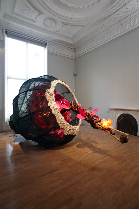 The World as Burnt Fruit | Rina Banerjee 2009