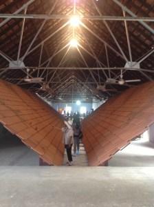 Installation by L. N. Tallur