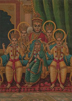 Ravi Varma Press Shri Ram Janki