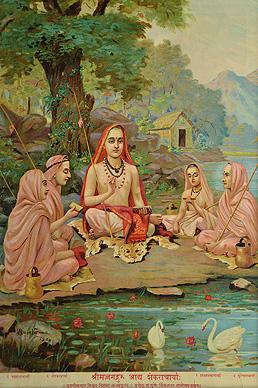 Raja Ravi Varma Shrimad Guru Adi Shankaracharya
