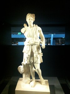 Marble sculpture of goddess, Artemis, Akshehir, Turkey, 2nd Century