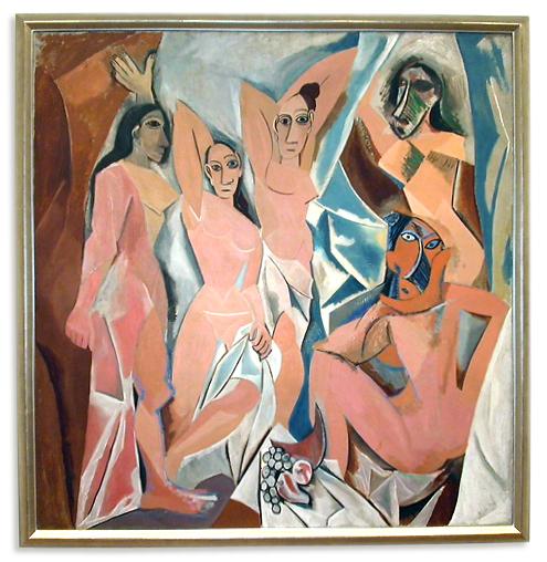 Les Demoiselles d'Avignon, Pablo Picasso