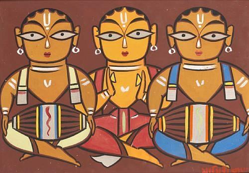 Drummers, Jamini Roy