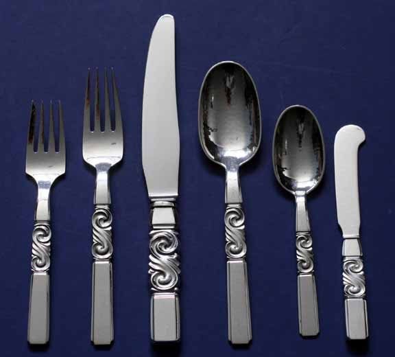 Georg Jenson, Flatware Set