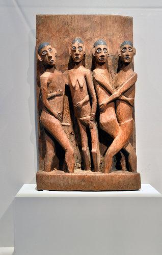 "Erotic Figures in ""Fiercely Modern:Art of the Naga Warrior"""
