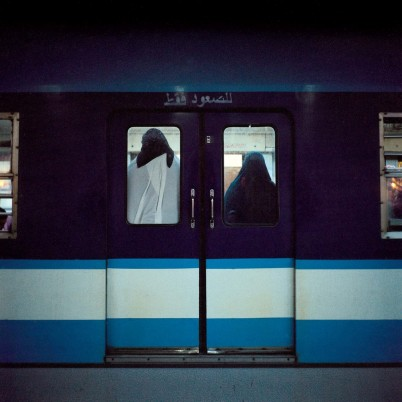 Metro #7 Rana El Nemr, Metro #7, 2003. Chromogenic print. Museum purchase with general funds and the Abbott Lawrence Fund.