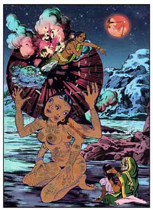 Chitra Ganesh, Atlas, 2013