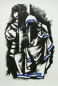 MAQBOOL FIDA HUSAIN|ETERNAL MOTHER