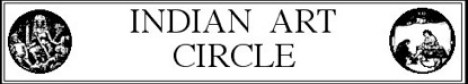 Indian Art Circle logo. Image Credit: IAC, SOAS