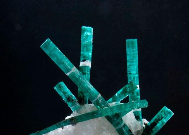 Gemfields' 'Medusa' emerald from the quartz rock Discovered in Zambia in 2008