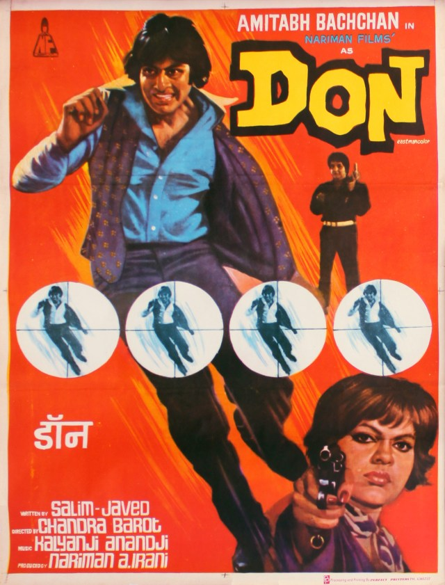 A lithographic poster of Don (1978)