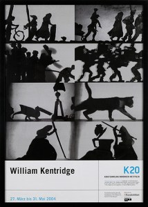 WILLIAM KENTRIDGE - K20, 27 March - 31 May, 2004, Exhibition Poster