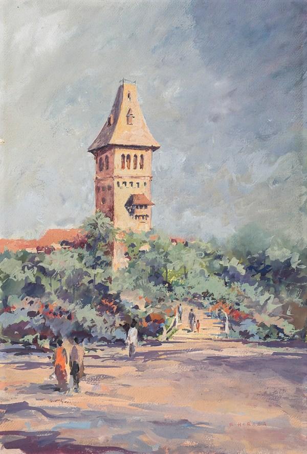 Untitled (Landscape) on auction next month