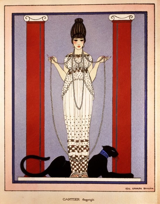 Lady_with_Panther'_by_George_Barbier_for_Cartier,_1914
