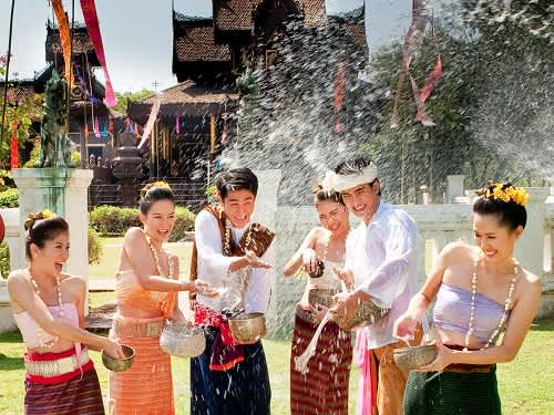 New year in Cambodia, Laos, and Myanmar