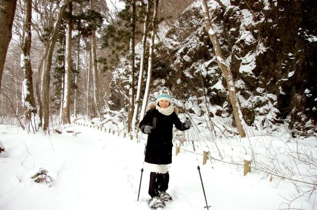 雪を歩く2