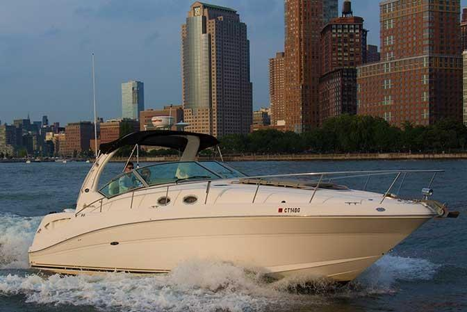 38' Sea Ray from $229/pp in Jersey City