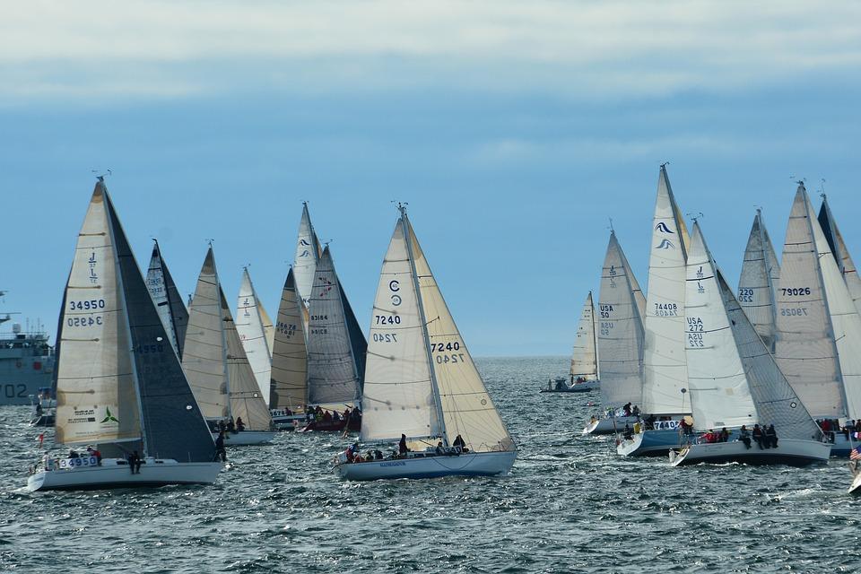 team building yacht race