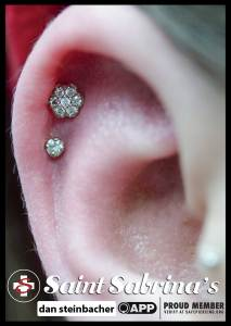 cartilage piercing healing