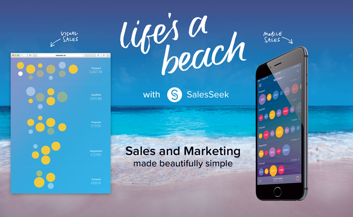 Life's a Beach with SalesSeek at the MWC