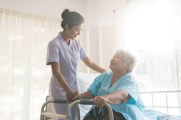 Bệnh nhân có thể được chăm sóc giảm nhẹ ở nhiều nơi phụ thuộc vào nguyện vọng của bệnh nhân (Ảnh: Sưu tầm)