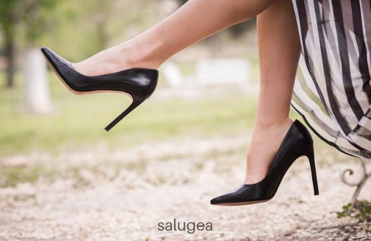 gambe gonfie e pesanti