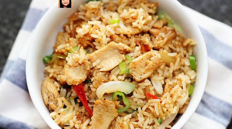 ข้าวผัด ไก่พริกไทยดำ