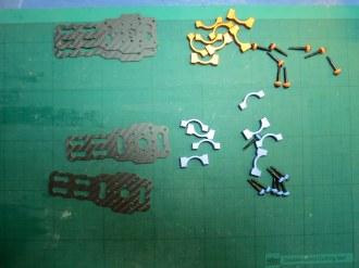 Assembling Tarot 650 motor mounts