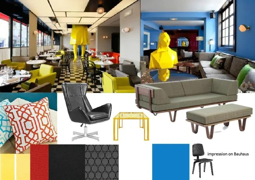 Bauhaus Inspired Interior Design Bauhaus Interior Design