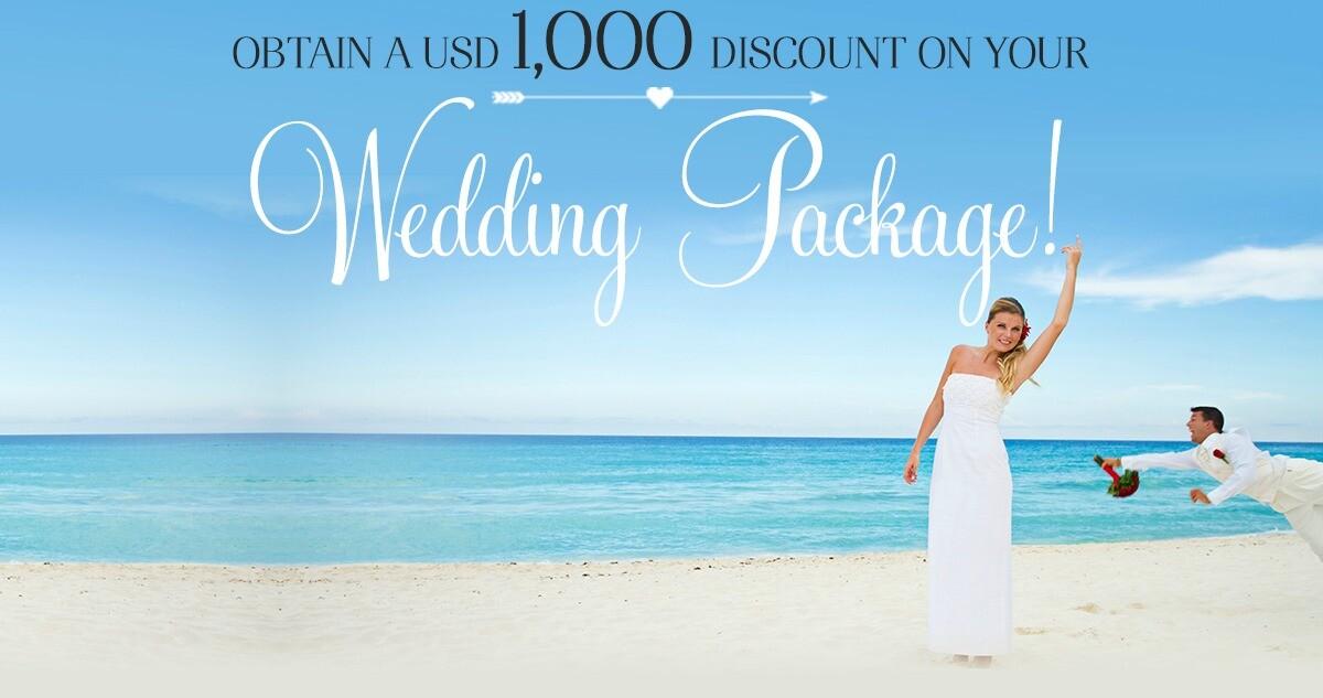 sandos wedding package deals for 2015