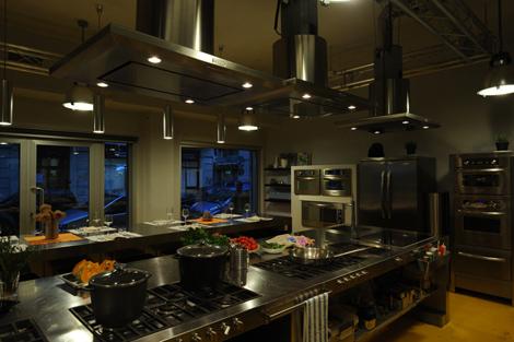 la scuola di cucina Teatro7 Lab, a Milano