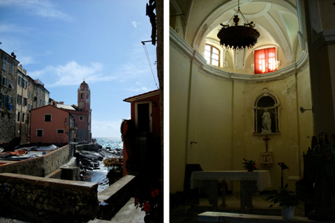la chiesetta di Tellaro | ©foto Sandra Longinotti