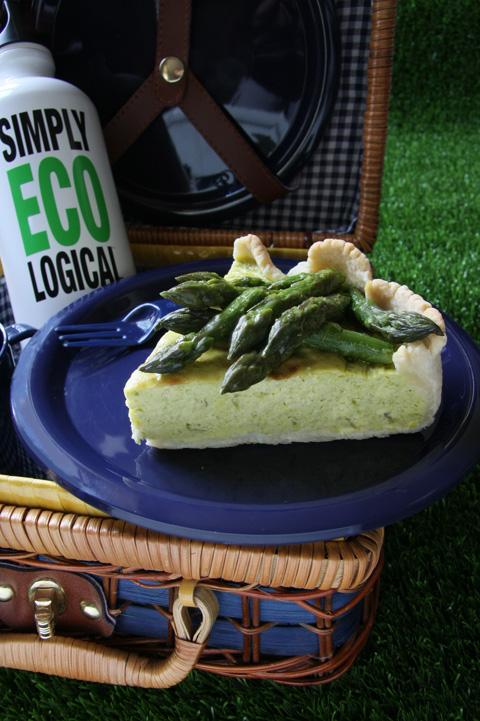 quiche agli asparagi e sbrinz | ©foto Sandra Longinotti
