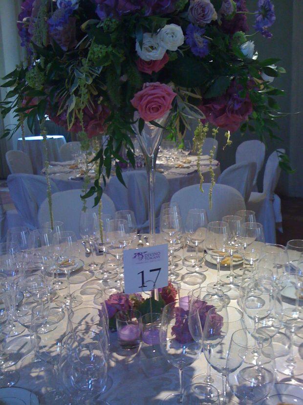 Divino Tuscany, la cena di gala a Palazzo Corsini   ©foto Sandra Longinotti
