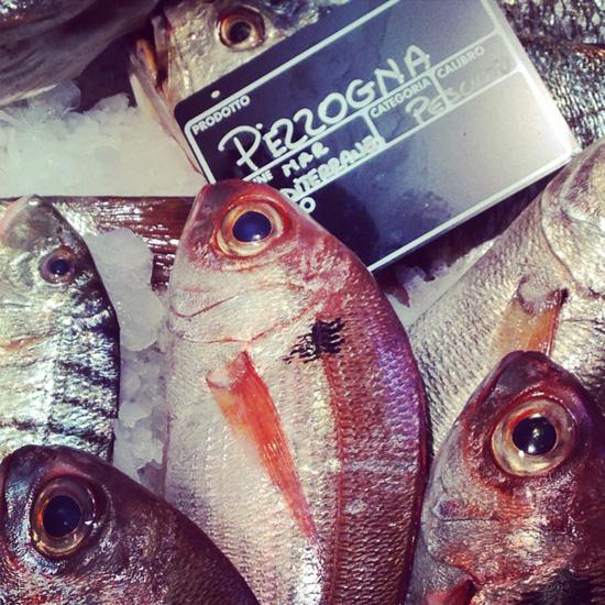 Eataly Smeraldo, la pescheria (©Sandra Longinotti)