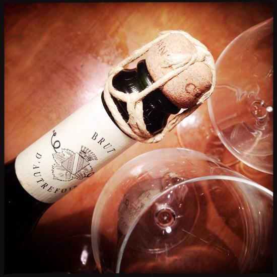 champagne Corbon Brut d'Autrefois | ©Strutturafine
