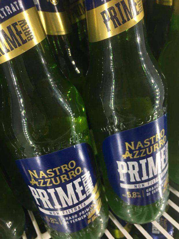 Nastro Azzurro Prime Brew, la nuova lager non filtrata | ©foto Sandra Longinotti