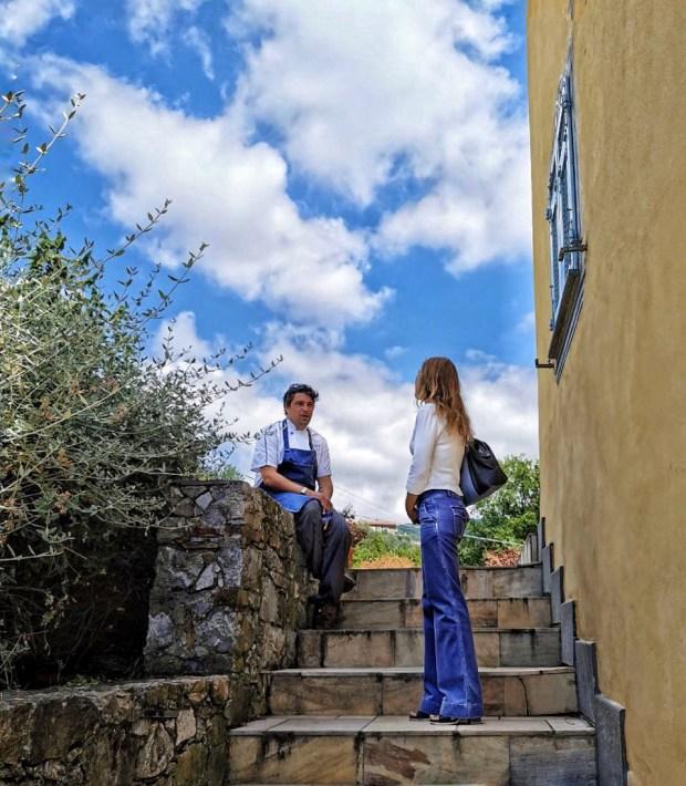 Alla Locanda de Banchieri con lo chef  Giacomo Devoto | ©foto Sandra Longinotti