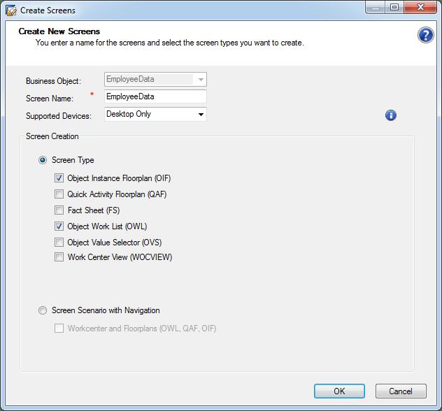 Design an object work list