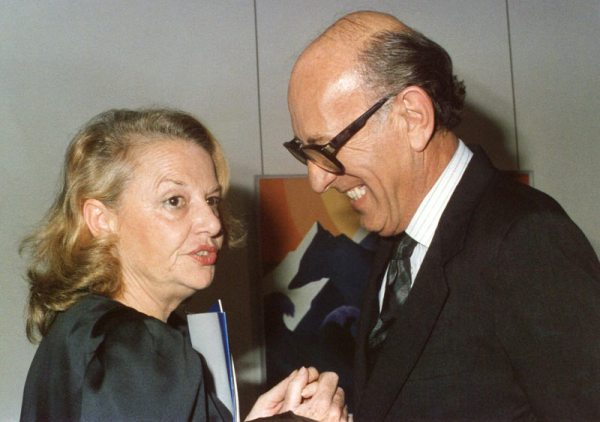 Sophia de Melo Breyner and Francisco Pereira Coutinho, November, 1987