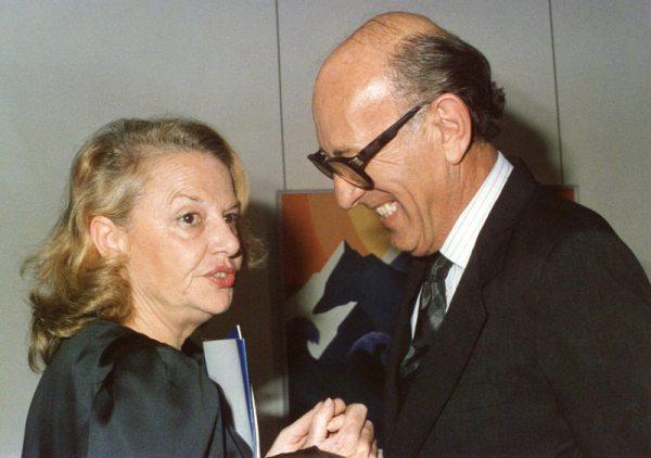 Sophia de Melo Breyner and Francisco Pereira Coutinho, November, 1987