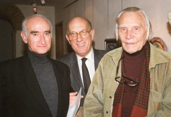 Cruzeiro Seixas, Francisco Pereira Coutinho and Hein Semke, July, 1988