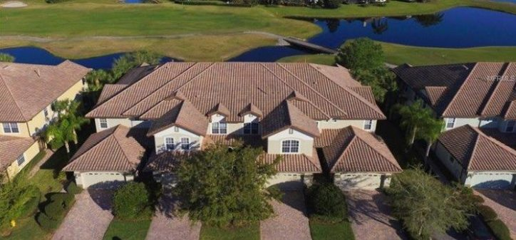 two-story townhome in Lakewood Ranch