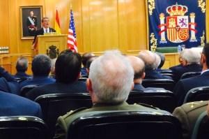 Conferencia del ministro de Defensa USA, Ashton Carter, en el CESEDEN (Madrid) el 5 de Octubre de 2015