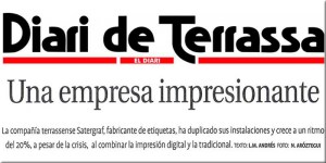 Publicación Diario de Terrassa