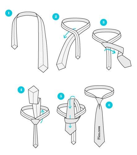 03-Como-fazer-nó-de-gravata-Nó-de-gravata-simples