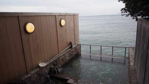 船戸の番屋 露天風呂